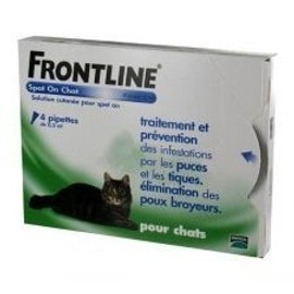 Frontline Spot On Chat - 4 Pipettes
