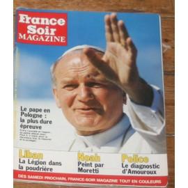 Fs Mag Raymond Moretti 4p/ Yannick Noah 3p/ Carole Laure 2p/ Zitrone 1.5p/ Caroline Monaco 1/2p/ Galabru 2p/ David Bowie 4p/ Yves Robert 1.5p/ 12074