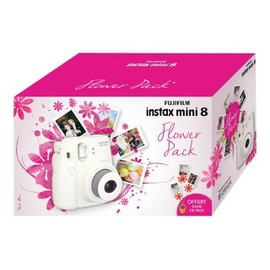 fujifilm instax mini 8 flower pack pas cher priceminister rakuten. Black Bedroom Furniture Sets. Home Design Ideas