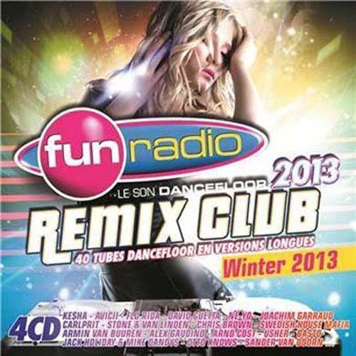fun radio remix club winter 2013 collectif cd album rakuten. Black Bedroom Furniture Sets. Home Design Ideas