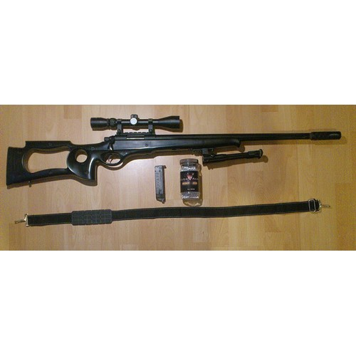 Fusil Sniper Well Mb10 D 2 Joules+ Lunette + Bipied ...
