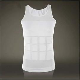 gaine homme slim ventre plat minceur fitness blanc d bardeur s m l xl xxl. Black Bedroom Furniture Sets. Home Design Ideas
