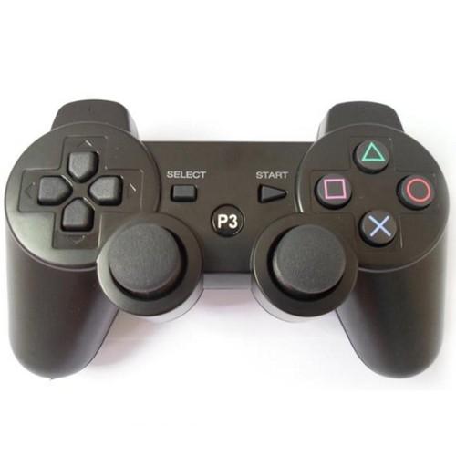 gamepads pads de jeu joystick de contr leur pc joypad bluetooth sans fil bleu pour ps2 3 avec. Black Bedroom Furniture Sets. Home Design Ideas
