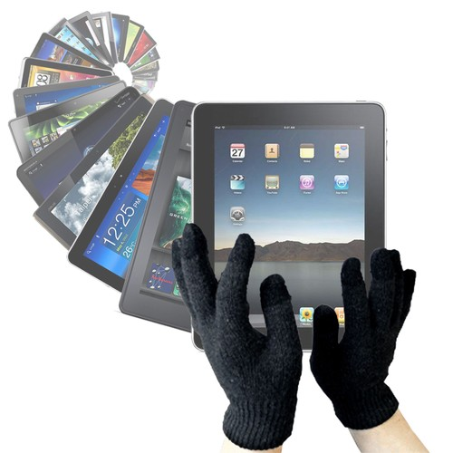 gants capacitifs sp cial froid pour cran tactile de tablettes ex ipad 2 samsung galaxy tab. Black Bedroom Furniture Sets. Home Design Ideas