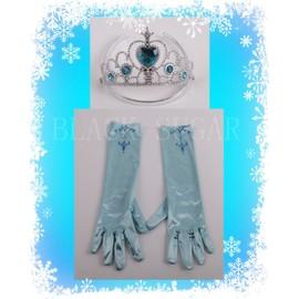 gants elsa adulte avec diadme bleu pour dguisement parfait de look elsa la reine des neiges envoie immdiat bonne qualit - Gants La Reine Des Neiges
