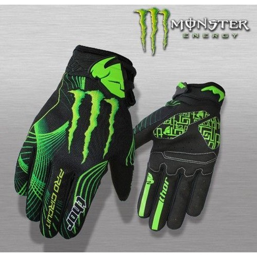 gants monster energy thor pro circuit pas cher priceminister. Black Bedroom Furniture Sets. Home Design Ideas