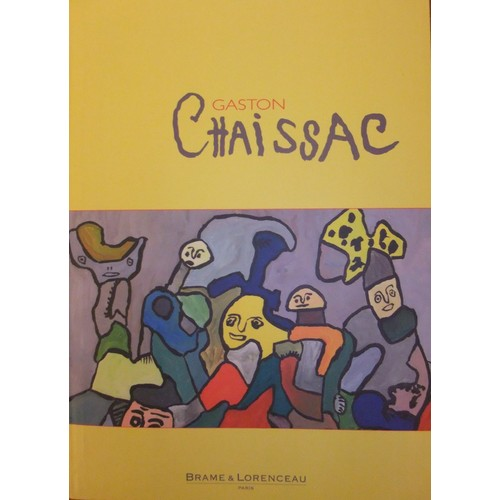 Gaston chaissac oeuvres de 1951 1964 de galerie brame for Chaissac gaston
