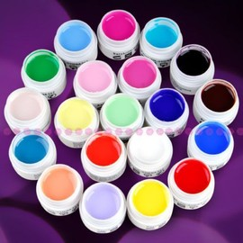 Gel Uv Set De 5 Coloris Differents