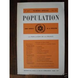 Population N Special Juin 1974 de G�rard Calot