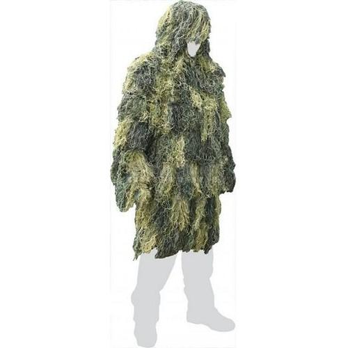 ghillie parka woodland tenue de camouflage anti feu miltec. Black Bedroom Furniture Sets. Home Design Ideas