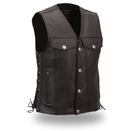 Gilet Cuir Fashion Eb 616 / 741