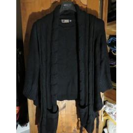 publier des informations sur pas cher nouvelles variétés Gilet Noir Kiabi Woman taille 50-52