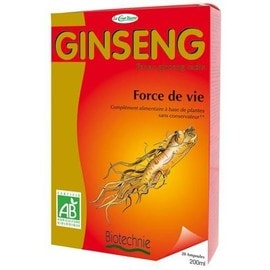 Ginseng Rouge Bio - 20 Ampoules - Achat et vente - PriceMinister