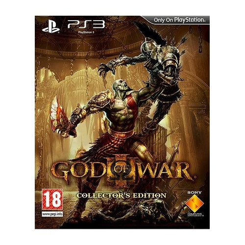 god of war iii edition collector achat vente de jeu. Black Bedroom Furniture Sets. Home Design Ideas