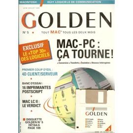 Golden Tout Mac Tous Les 2 Mois 5 Juin Juillet 1992
