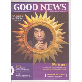 Good News , Suisse Oktob 2002 Prince , Bryan Adams, Zz Top