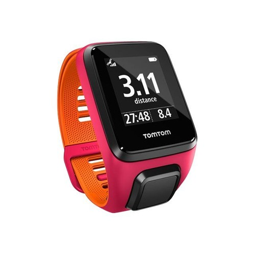 tomtom runner 3 cardio montre gps cycle course pied natation taille de bracelet 125 172 mm. Black Bedroom Furniture Sets. Home Design Ideas