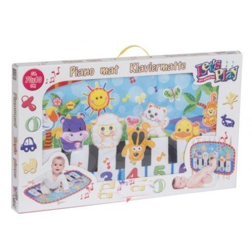grand tapis musical enfant bebe eveil musique piano jeu jouet animaux sonore ref 239. Black Bedroom Furniture Sets. Home Design Ideas
