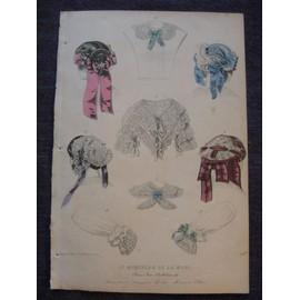 Gravure De Mode Vers 1860