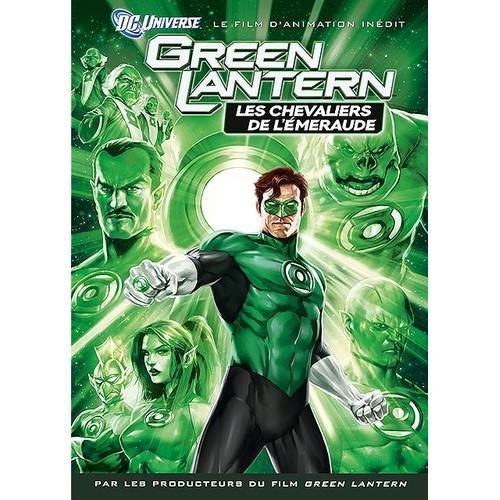 green lantern les chevaliers de l 233 meraude dvd zone 2