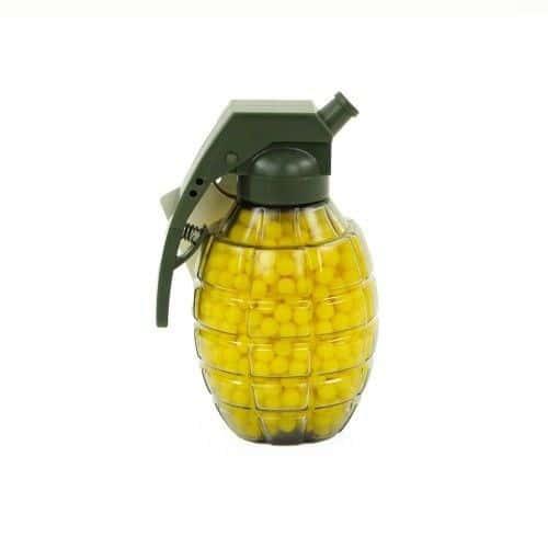 grenade recharge bille g x 800 billes bbs jaune. Black Bedroom Furniture Sets. Home Design Ideas