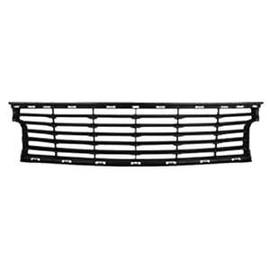 grille de calandre inf rieure pour renault scenic iii phase 2 2012 2013 noire pare chocs avant. Black Bedroom Furniture Sets. Home Design Ideas
