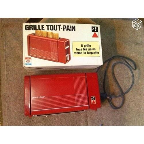 Grille pain seb 841003 rouge vintage pas cher - Grille pain rouge pas cher ...