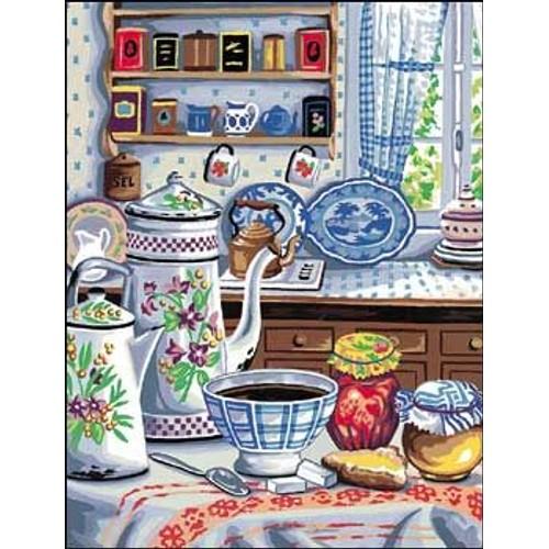 grille point de croix cuisine d 39 autrefois achat et vente. Black Bedroom Furniture Sets. Home Design Ideas