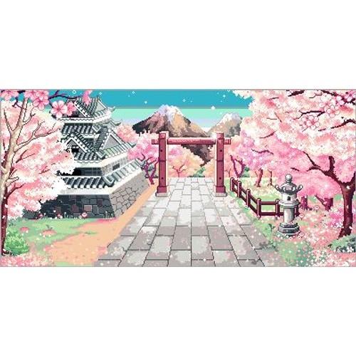 Grille Point De Croix Jardin Japonais - Achat et vente ...