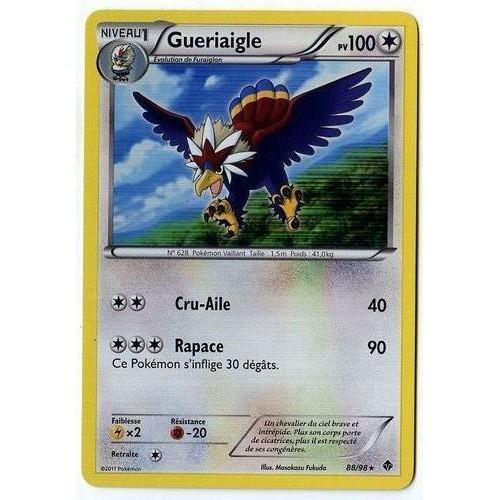 Gueriaigle 88 98 pokemon noir et blanc pouvoirs emergents - Liste des pokemon noir et blanc ...