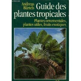 Guide Des Plantes Tropicales Plantes Ornementales