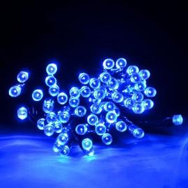 Exterieur Guirlande Solairejardin Lumineuse Decoration30 Bleu Led Metres 29YDHWEI