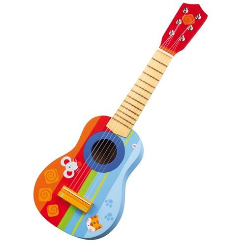 guitare enfant en bois instrument de musique enfant achat et vente. Black Bedroom Furniture Sets. Home Design Ideas