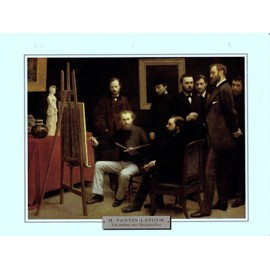 Petite annonce H. Fantin-Latour - Un Atelier Aux Batignolles - 89000 AUXERRE