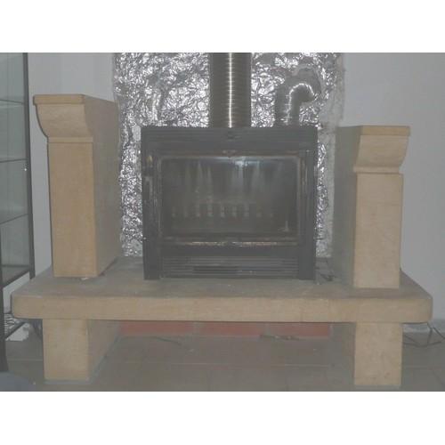 habillage de chemin e en pierre de dordogne insert offert. Black Bedroom Furniture Sets. Home Design Ideas