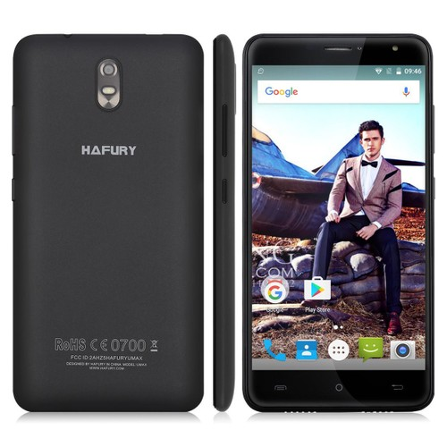 Hafury umax grand cran 6 pouces 3g smartphone android 7 0 for Photo ecran android 6