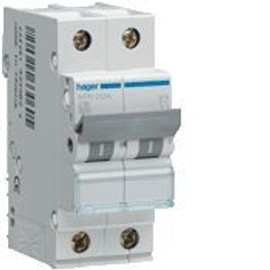 Hager Nfn 706 - Disjoncteur 1p+N 6/10ka C-6a 2m