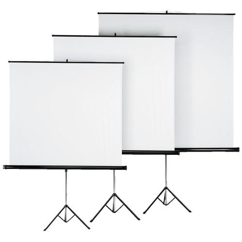 hama ecran de projection sur pied 125 x 125 cm pas cher. Black Bedroom Furniture Sets. Home Design Ideas