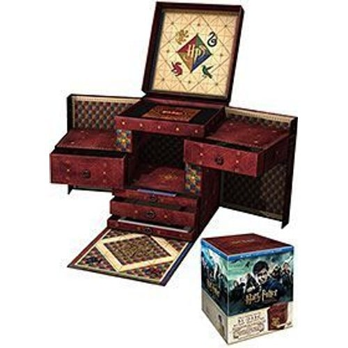 harry potter wizard 39 s collection blu ray audio anglais coffret import angleterre de divers. Black Bedroom Furniture Sets. Home Design Ideas
