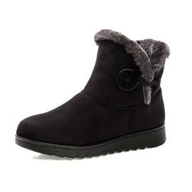 hee grand femme chaussure fourr de bottes neige chaud. Black Bedroom Furniture Sets. Home Design Ideas
