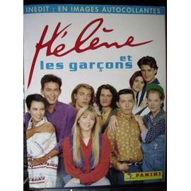 Hélène Et Les Garçons Album Panini Autocollant Neuf Rare Dorothée Ab N° 0000001 : Hélène Et Les Garçons Panini Autocollants