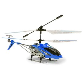 H�licopt�re Rc Syma S107g Gyro Infrarouge 3 Voies - Bleu