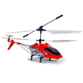 H�licopt�re Rc Syma S107g Gyro Infrarouge 3 Voies - Rouge