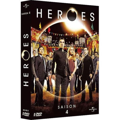 heroes saison 4 de david straiton dvd zone 2 rakuten. Black Bedroom Furniture Sets. Home Design Ideas