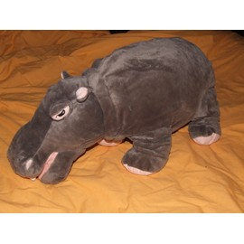 hippopotame ikea doudou klappar flodhast peluche de 65 cm. Black Bedroom Furniture Sets. Home Design Ideas
