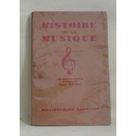 Histoire De La Musique de alice gabeaud