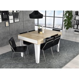 Home Innovation - Table Console Extensible, Rectangulaire Avec ...