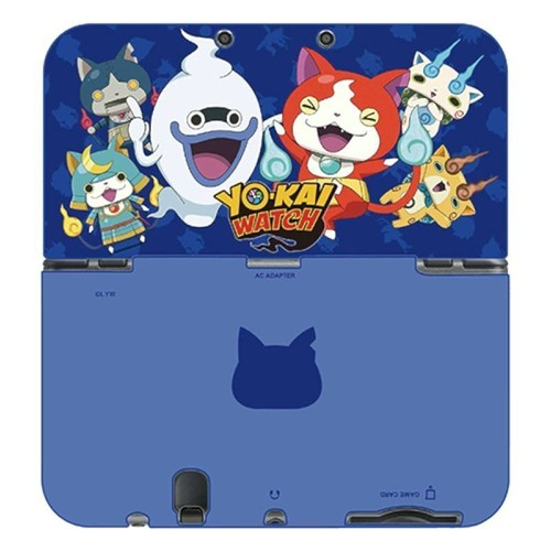 hori coque de protection yokai watch group duraflexi pour console nintendo new 3ds xl. Black Bedroom Furniture Sets. Home Design Ideas