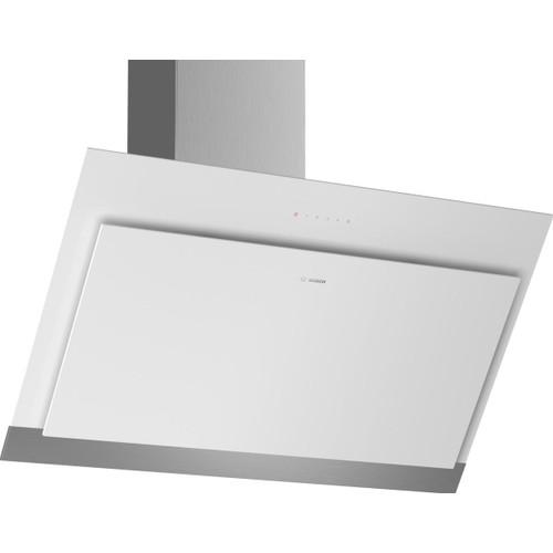 hotte d corative inclin e 90cm 680m3 h blanc dwk97hm20 s rie 4. Black Bedroom Furniture Sets. Home Design Ideas