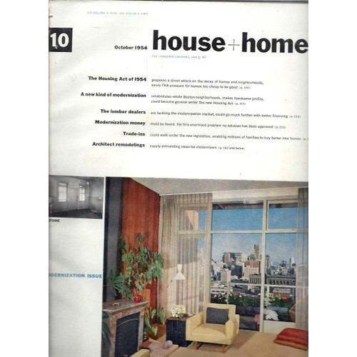 House Home N10 October 1954 Modernization Issue 1131848303 L